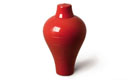 Ming Red Tableware Urn