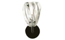 Elbow Sconce Clear Barnacle
