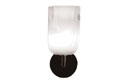 Elbow Sconce Opal Square