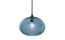 Bubble Pendant Steel Blue Ellipse
